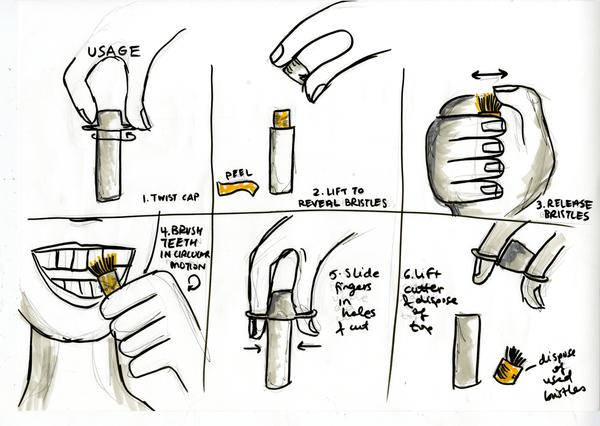 Cepillado Dental Miswak Ilustración