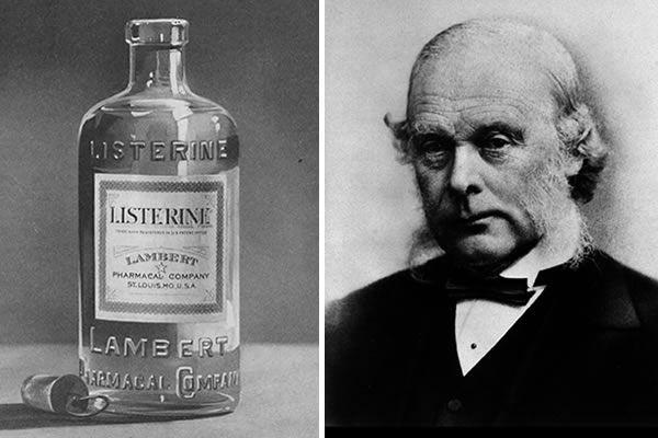 Joseph Lister, precursor del Listerine