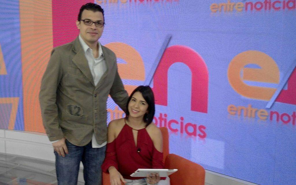 Primera de mis entrevistas en Entre Noticias - Globovisión