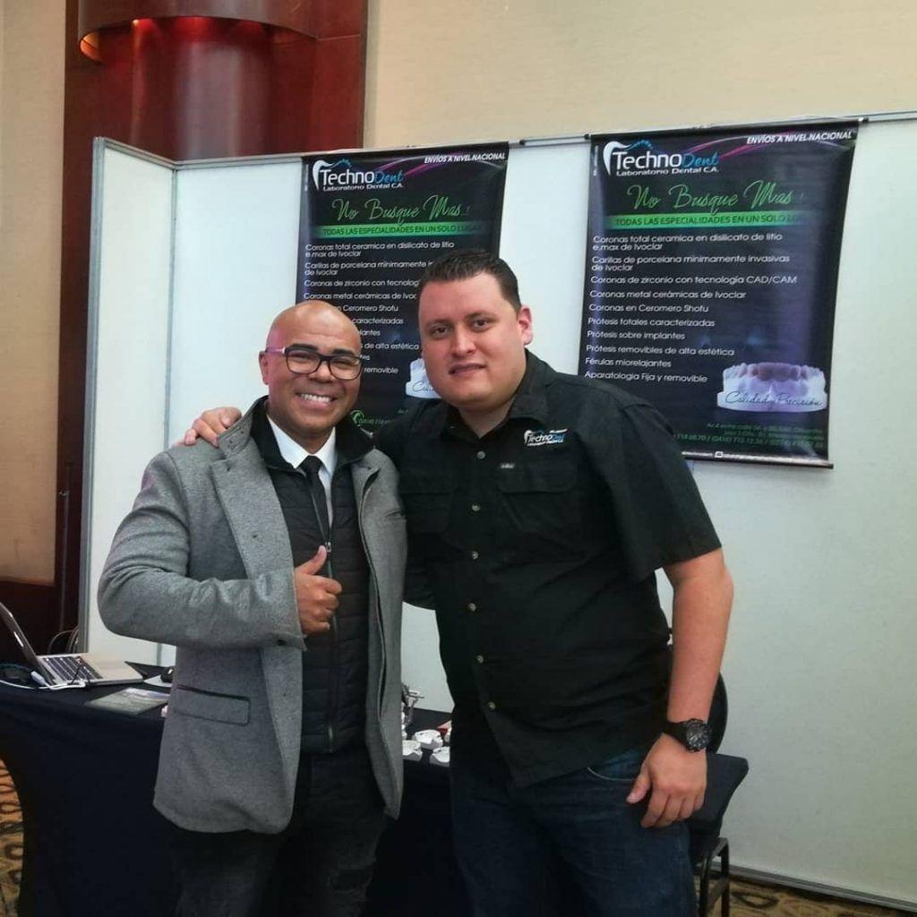 Dr. John Monges y TPD y Rubén Zambrano