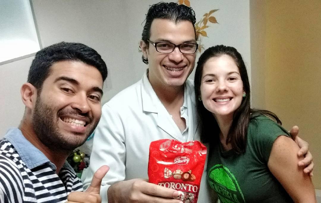 Odontologo Luis Marcano, Jean Covarrubia y Thamayri Urbina