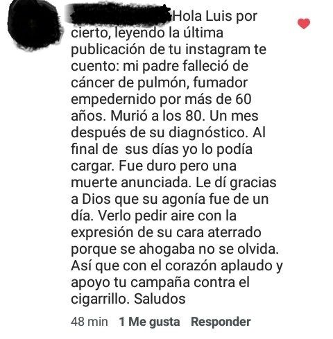 Testimonio de una hija de un fumador