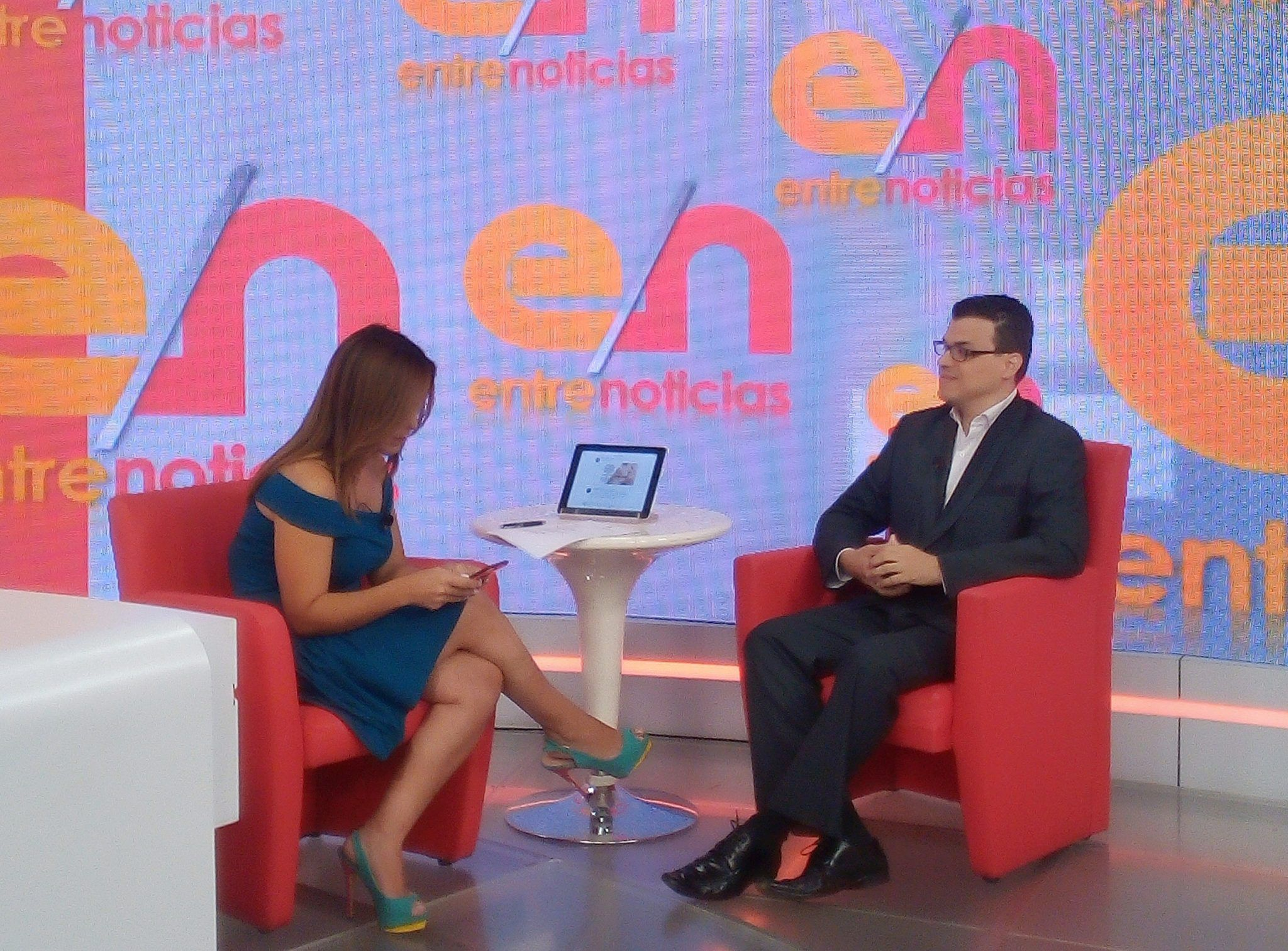 La segunda de las entrevistas al Dr. Luis Marcano en Entre Noticias