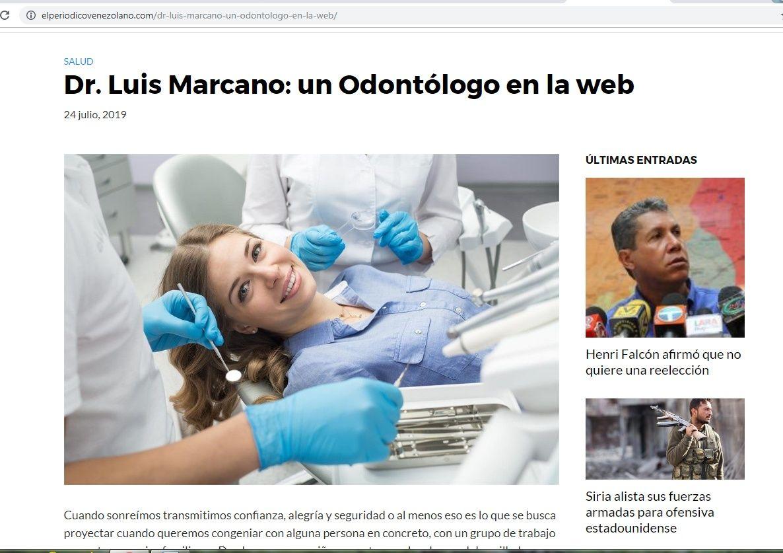 Periodicovenezolano.com Dr. Luis Marcano