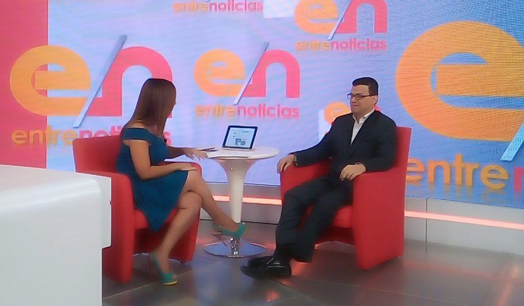Odontólogo Luis Marcano en el programa Entre Noticias