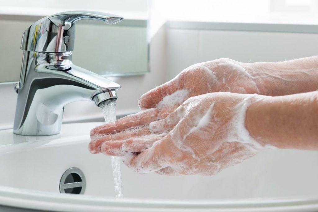 Lavarse las manos y prevención del COVID-19