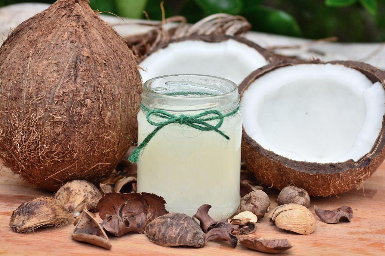 Blanqueamiento dental y aceite de coco