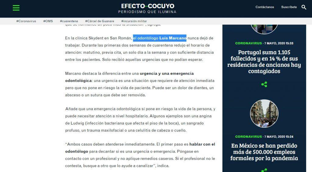 Efecto Cocuyo - Dr. Luis Marcano