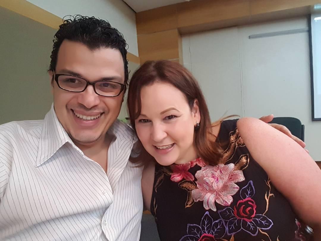 Dr. Luis Marcano y Dra. Mariana Villarroel
