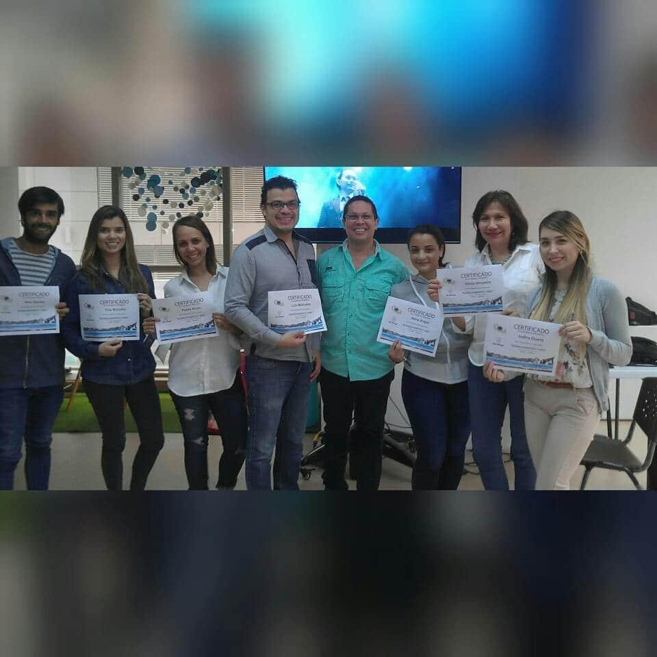 Curso del Dr. Alfredo Natera - Participación del Dr. Luis Marcano