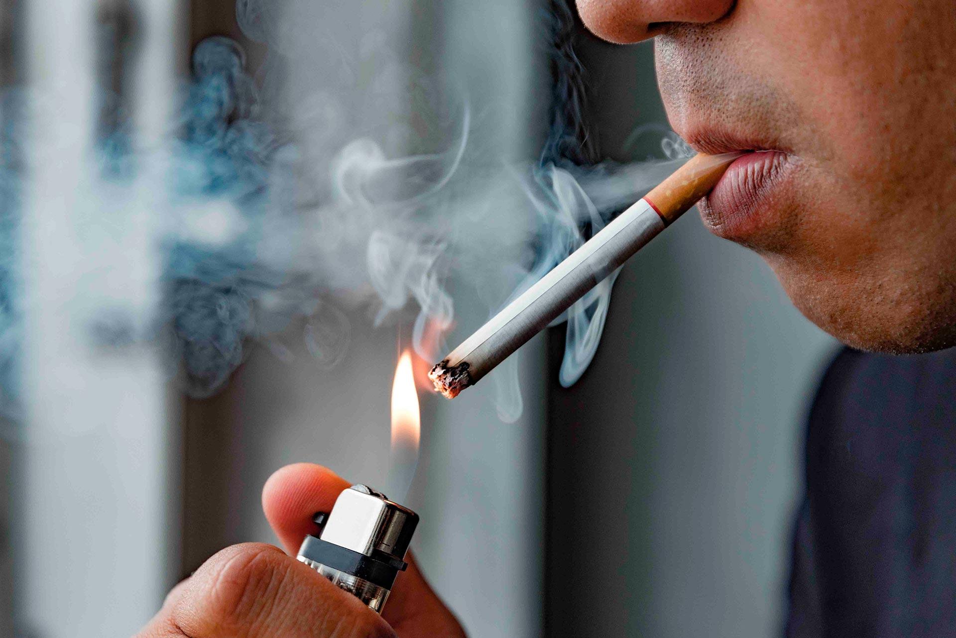 Relación entre fumar y el cáncer oral