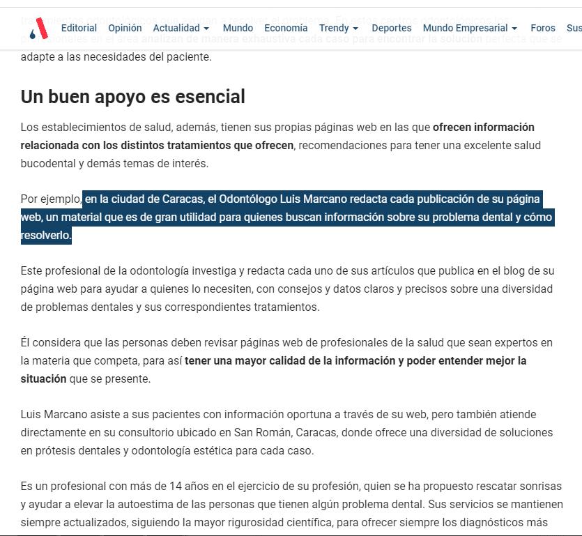 Analítica.com - Dr. Luis Marcano