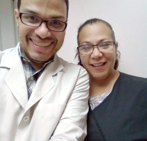 Dr. Luis Marcano - Odontólogo en Caracas, con la Dra. Zulay Díaz